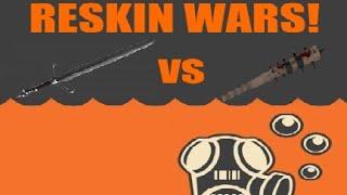 Three Rune Blade vs Boston Basher, Reskin Wars!(Season 1  Episode 4)
