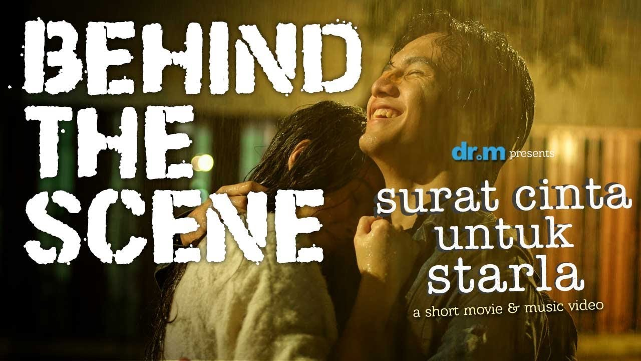 Surat Cinta Untuk Starla Jefri Nichol Caitlin Short Movie Behind The Scene