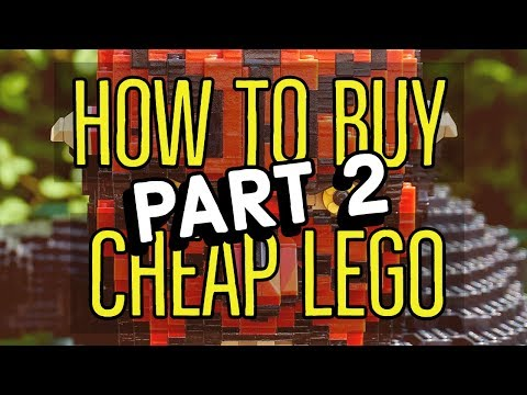 How To Buy Cheap Retired LEGO Sets LEGALLY! Part 2