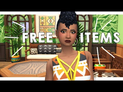 WE GOT SLIDING DOORS, CEILING FANS & NEW ITEMS! ? | Sims 4 FREE Caribbean Update thumbnail
