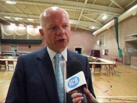 ELECTION 2010 Richmond MP William Hague