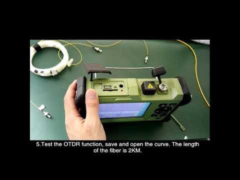 OTDR ALK7000 Test Video