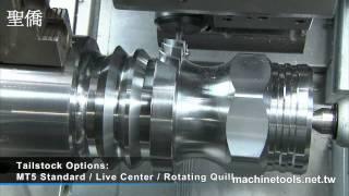 CNC Lathe | Turning Lathe – UT-400 heavy-duty slant-bed CNC lathe