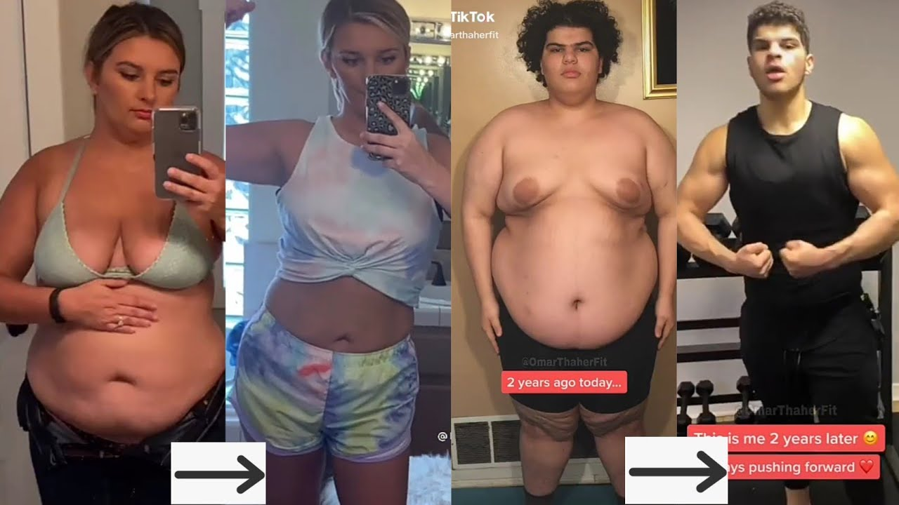 Weight Loss Motivation / Results - Tiktok Compilation