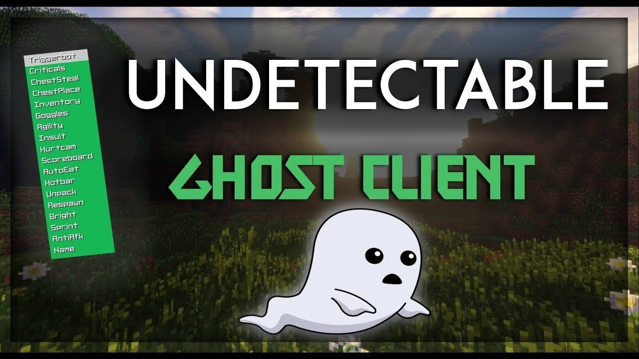 Release Best Ghost Client Free 1 7 10 Undetectable Injection Client Youtube