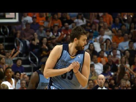 Marc Gasol se lesiona en la derrota de Memphis Grizzlies