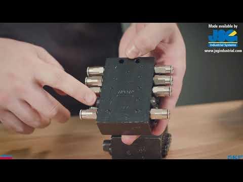 How SSV Divider Valves Work In A Lincoln Progressive Lubrication System