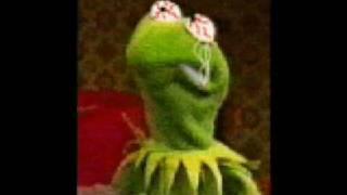 Kermit and bigbird stoned
