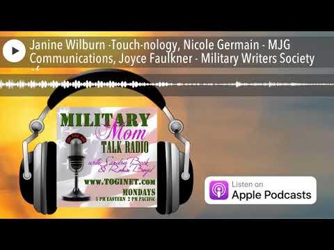 Janine Wilburn -Touch-nology, Nicole Germain - MJG Communications, Joyce Faulkner - Military Wr