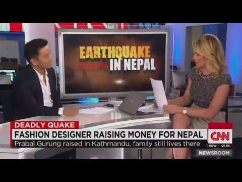 Fashion designer Prabal Gurung raising money for Nepal