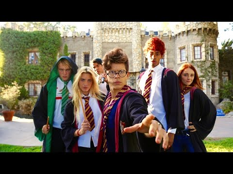 Harry Potter - Hogwarts High School | Lele Pons & Rudy Mancu