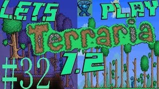Terraria 1.2 Blind Lets Play Part 32!: SKY ISLANDS AND RAIN CLOUDS!