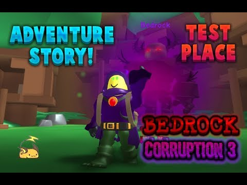 Free Admin Testplace Roblox Corruption 3 Bedrock Defeated Roblox Adventure Story Test Place Youtube