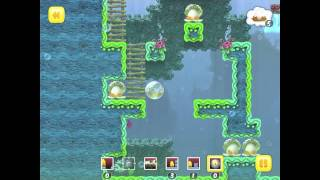 Toki Tori PC/Mac Walkthrough Bubble Barrage Normal 7