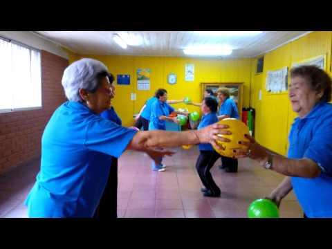 Gimnasia con pelotas