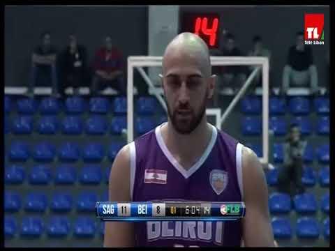 بطولة لبنان لكرة السلة - Sagesse VS Beirut - 2018-2017