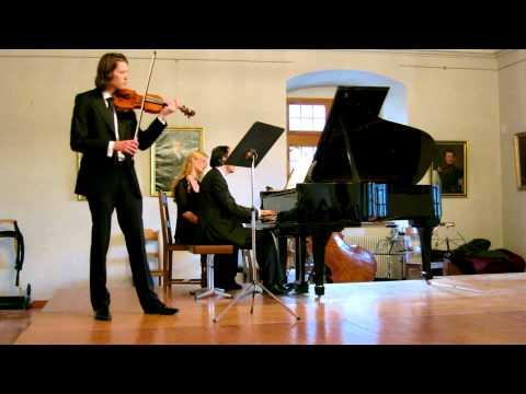 L'enfer aus dem Grand Duo Concertant fur Violine und Klavier-Charles Valentin Alkan 1813-1888