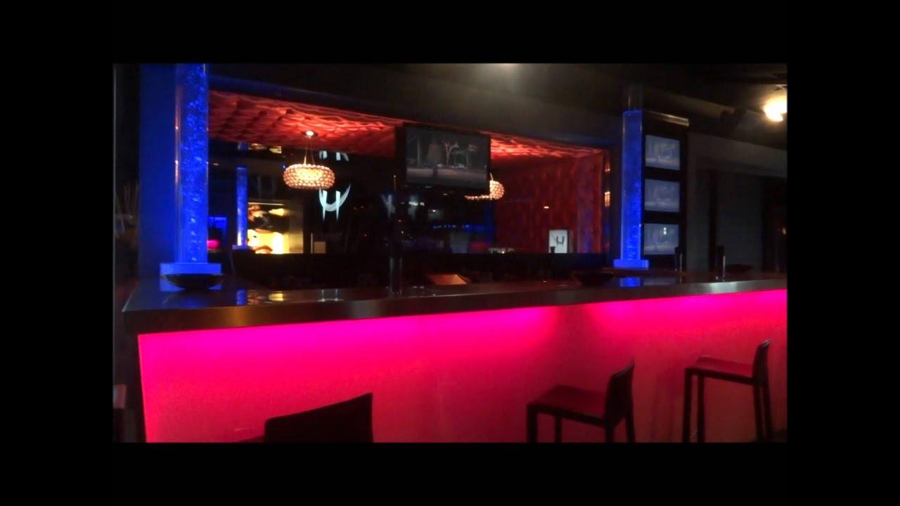 Decoraci n con burbujas para pubs y discotecas paneles y - Barras de bar iluminadas ...