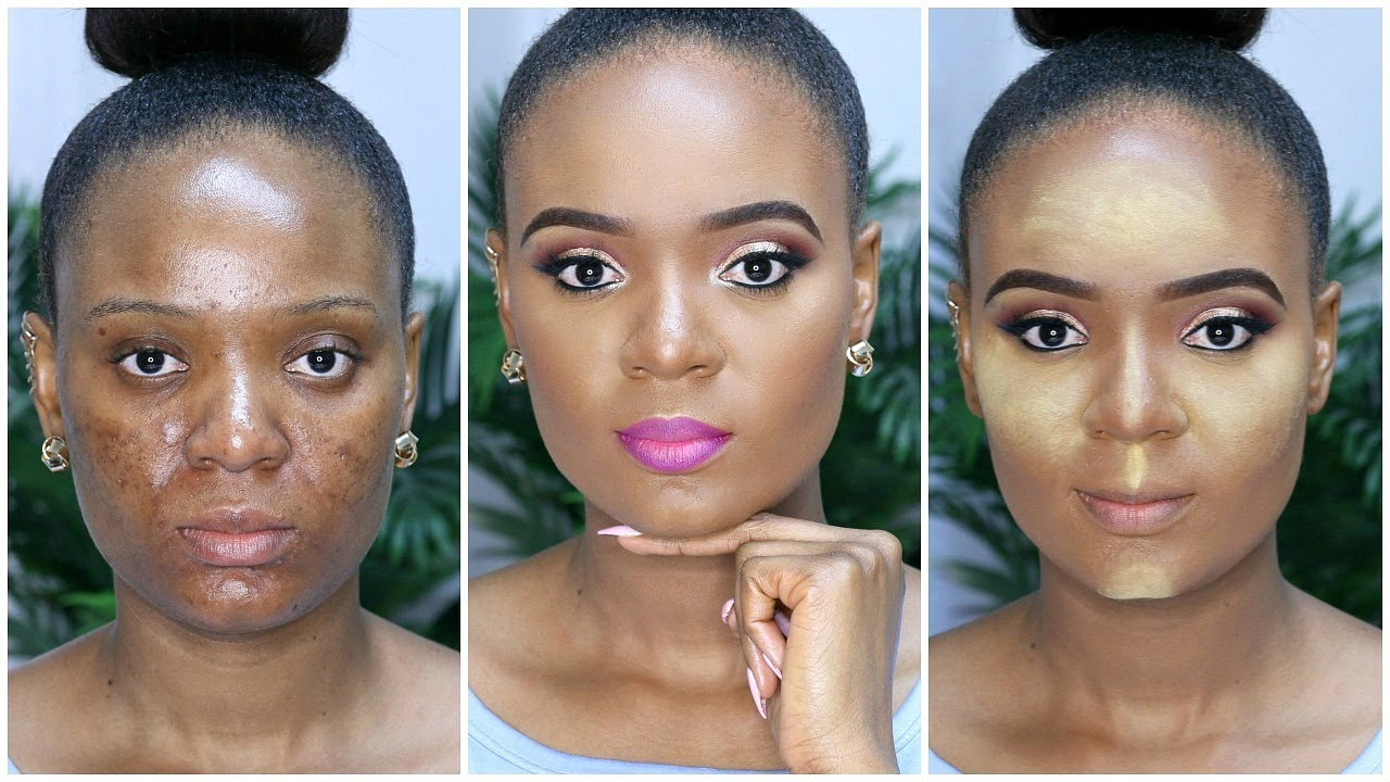 rough textured skin contour highlight and blend like a pro