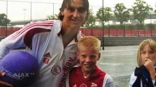 Gaat Davy Klaassen weer op de foto met Zlatan Ibrahimovic?