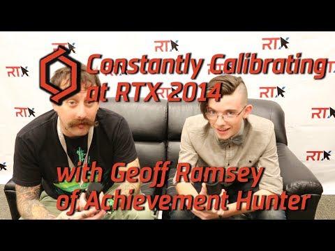 RTX 2014: Interview with Geoff Ramsey of Achievement Hunter