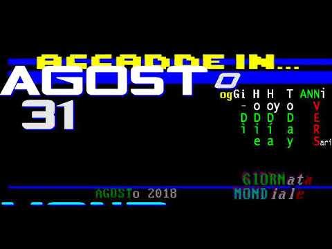 §.2018/** AGOSTO 31 : cronistorie di TELEVIDEO RAI // ITALIAN CHRONICLES RAI TELETEXT AUGUST 31 from YouTube · Duration:  46 seconds