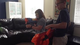 Nerf Battle: The Care Package