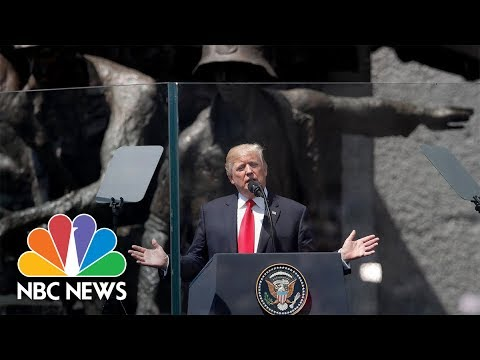 Watch Donald Trump's Keynote Speech In Warsaw, Poland | NBC News