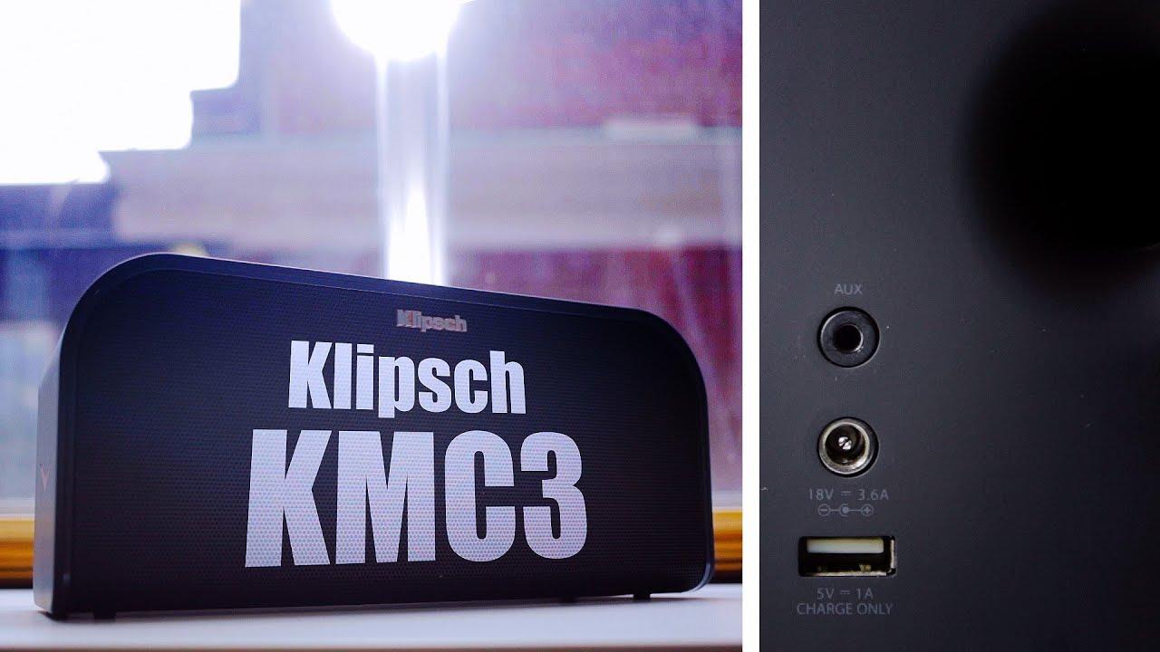 Klipsch KMC 3 Bluetooth Speaker Review