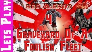 Red Alert 3 Empire Campaign Mission 4 - Graveyard Af A Foolish Fleet Mission4