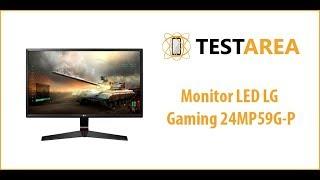 Monitor LED LG Gaming 24MP59G-P - prezentare