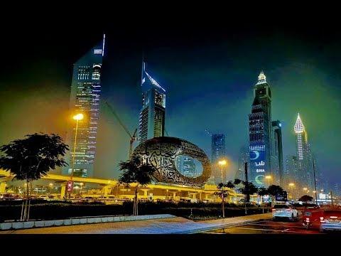 Amazing Dubai –  Dubai Down Town Night View 2019/ Amazing World 💖