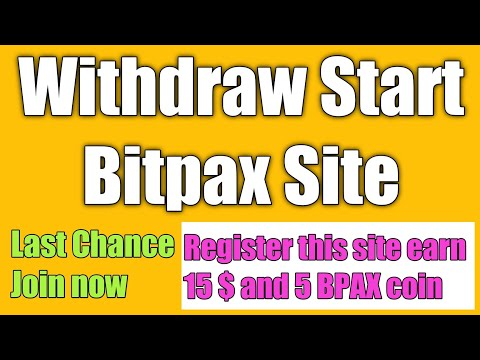 Earn 15 $ and 5 BPAX Coin without investment/ how to earn cryptocurrency without investment