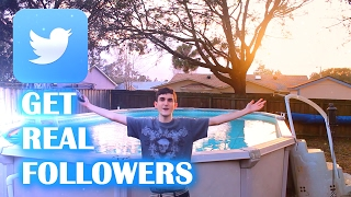 HOW TO GET TWITTER FOLLOWERS FAST 2017