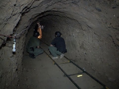 Rise of the Super Drug Tunnels: California's Losing Fight Against Smugglers