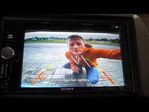 Установка камеры заднего вида Honda CIVIC 4D