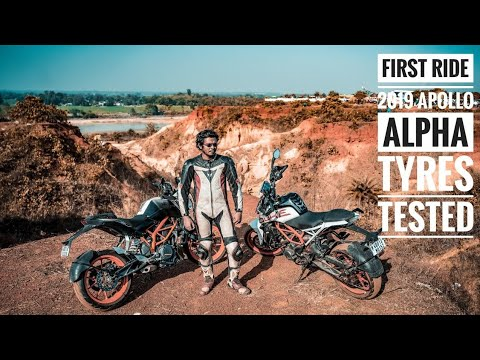 Download Best tyre for Duke 390? | Apollo Alpha H1 Tyre Vs Metzeler Sportech M5 Review