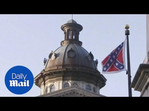 Confederate flag comes down from the SC capitol in July - Daily Mail