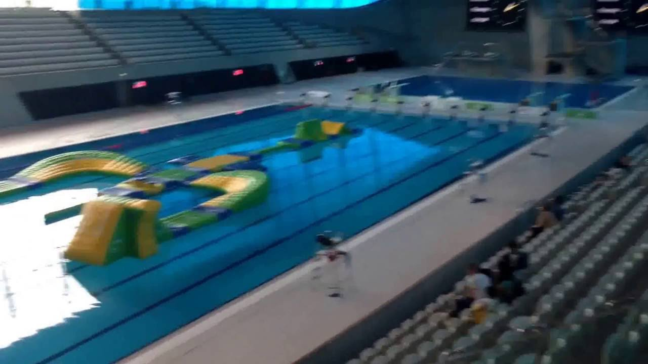 London Olympic Swimming Pool Youtube