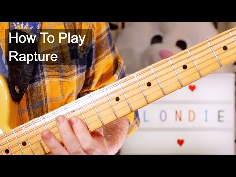 'Rapture' Blondie Guitar Lesson