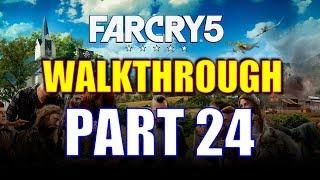 Far Cry 5 Walkthrough Part 24 - Holland Valley Clean Up Run