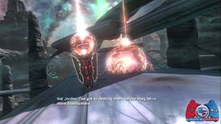 Green Lantern Rise of the Manhunters Walkthrough Part 1 (XBOX 360, PS3, 3DS, WII, DS)