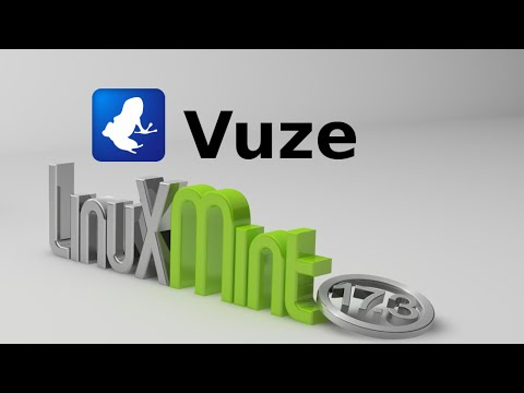 Vuze 5.7 (BitTorrent Client) For Linux Mint / Ubuntu