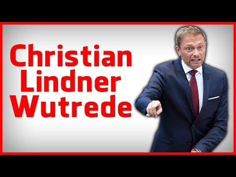 Christian Lindner Wutrede: