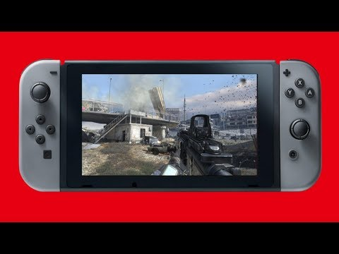Call Of Duty 2018 Nintendo Switch? Activision Releasing NEW Switch Games!
