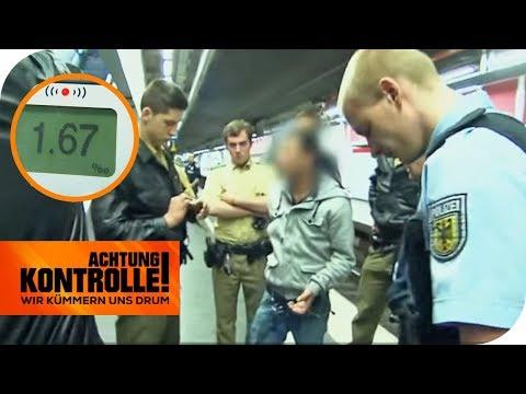 Schlägerei mit 1,6 Promille: Findet die Polizei alle Täter? | Achtung Kontrolle | kabel eins