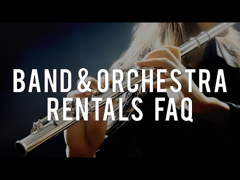 Student Band & Orchestra Instrument Rental FAQs