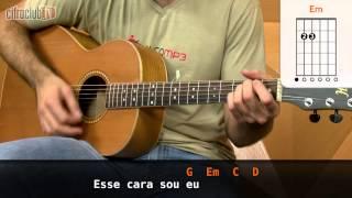 Esse Cara Sou Eu - Roberto Carlos (aula de violão simplificada)