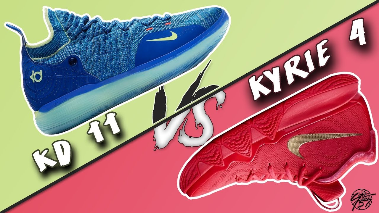6a67847b47b Nike KD 11 vs Kyrie 4! - YouTube
