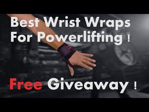 Best wrist wraps for powerlifting Giveaway! WinWristWraps.info
